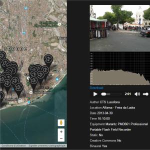 Lisbon SoundMap
